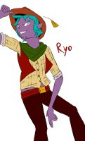 Ryo unfinished WIP by Mephylis