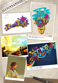 some of my illustrations by grazrootz