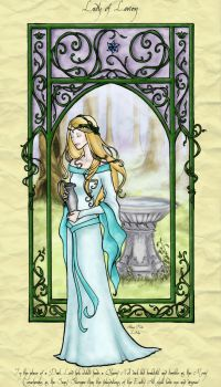 Lady of Lorien, by Achen089 by HadaMorgana