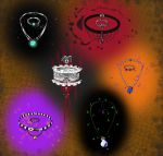Halloween themed Mystery Jewlery (Points or Trade) by MadamOctopus