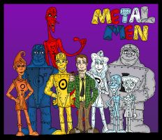 Metal Men by Lordwormm