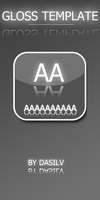 Gloss Dock Icons Template by dasilv
