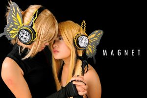 Len and Neru- Magnet by Dazedmelody