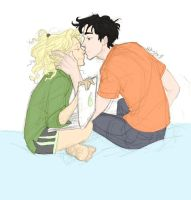 Percy and Annabeth by jmadisons