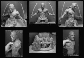 Skilgannon The Damned sculpt. by Leebea