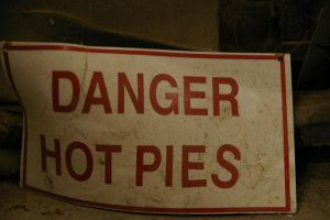 Danger Hot Pies by BlackRabbitArtisan