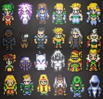 Final Fantasy 6 Main Cast - Front by IAmArkain