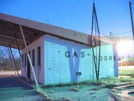 Gas + Moore by PeaceFrogArt