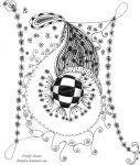 #2 Zendoodle Drawing by Aizenfree