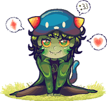 Nepeta Sitting Pixel by 3o2