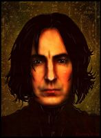 Severus Snape of Harry Potter by enchantedgal
