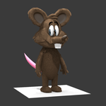 Mouse Animated Take by 3dbykristopher