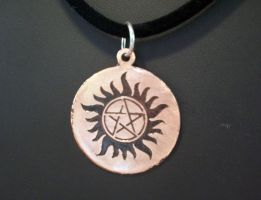 Supernatural Anti-Possession Pendant by spaceraptor