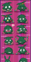 Yabukuron Expressions 3 by Fishlover