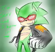 Scourge The Hedgehog...Again? by SerafinaTheHedgehog
