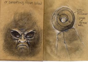 Sketchbook page 24 and 25 by jwize