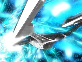 Behold, The USS Sovereign by CaptainMario