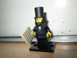 Lego Movie - Abraham Lincoln (71004) by KrytenMarkGen-0