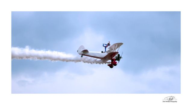 Wingwalker - Southport Air Show 3 by Paul-Madden