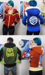 Elemental handmade hoodies by Lisa-Lou-Who