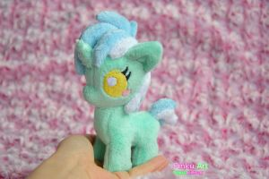 Tiny baby Lyra plush by PinkuArt