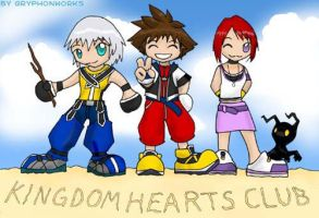 KH Club Contest Entry by gryphonworks