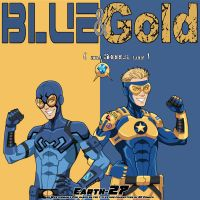 Before the League: Blue + Gold by Roysovitch