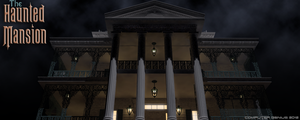 Haunted Mansion Exterior Front by ComputerGenius