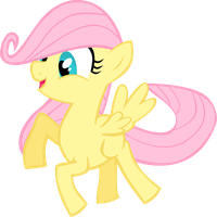 Filly Fluttershy by GoblinEngineer