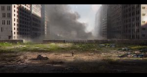 Abandoned city by VictorMosquera