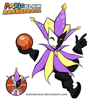 Dimentio - Mario Slam Basketball by CutyAries