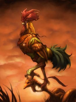 Boss Rooster by StewartMortimer