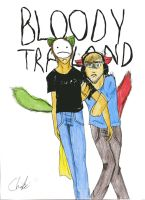Bloody Trapland by ChibiInStripes
