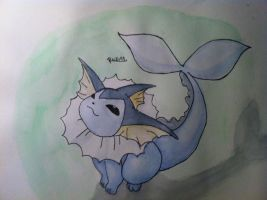 Draw me a Vaporeon by Randomous