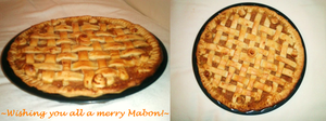 Mabon Apple Pie by ChocolateIsForever