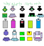 Winx Adopts 2 For SALE!!! by EmoSandy93