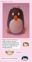 Penguin charm by fairy-cakes