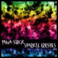 Sparkle Brushes by yana-stock