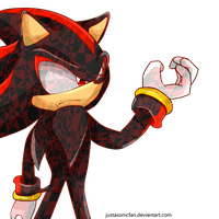 Sonic Pose Collection - Shadow the Hedgehog by JustASonicFan