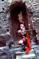 FFXIII Lightning - Fighting for a future by Marjooo