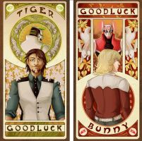 tiger+bunny mucha by edface