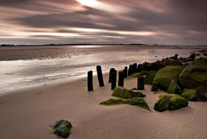 Long exposure clouds over Elbe by Bull04