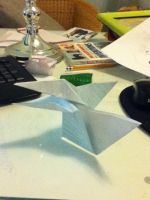 origami bird by maple101