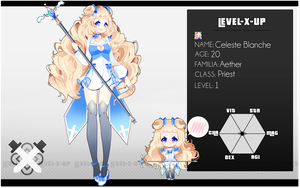 [ Level x Up ] Celeste Blanche by Aearia