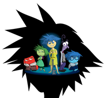 Inside Out Kingdom Hearts by SaJoJo