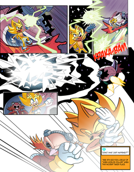 Mobius Legends Issue #1 - Page 1 (Old) by Yarcaz
