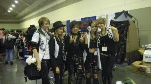 Me and Friends with H.Naoto by IAmDeidara