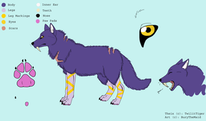 PC: Theix Ref Sheet by BuryTheMaid