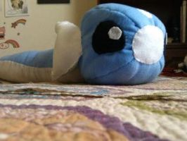 Dratini Plush by MandieDaFerocious