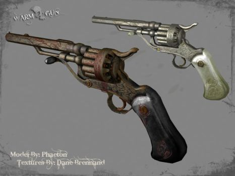 Heaven and Hell Revolvers by WarmGunMod